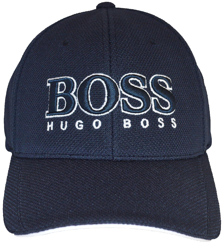 d0f861ffe35 ... outlet on sale 6854f fa86f Hugo Boss Cap US 50251244 Navy Amazon.co.uk  ...