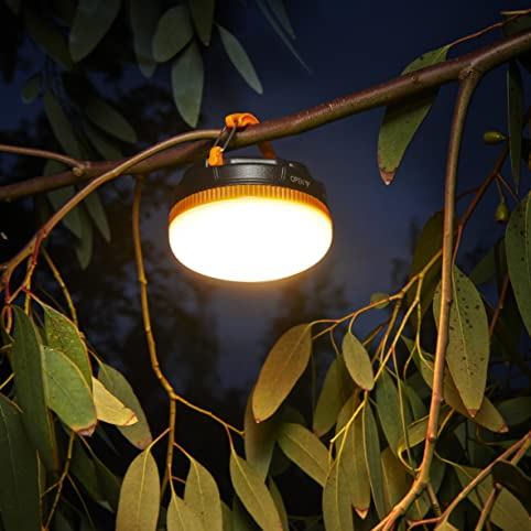 Auraglow Super Bright Battery Operated Outdoor Garden Hanging Gazebo Light  LED Camping Lantern