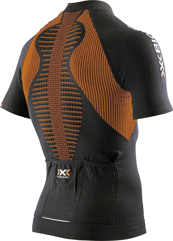 X-Bionic Uomo Biking Man The Trick OW Shirt Sh SL.Full Zip Ciclismo