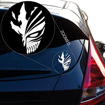 Ichigo mask decal sticker inspired by bleach for car window laptop motorcycle walls