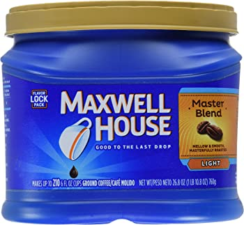 Maxwell House Master Blend Ground Coffee (26.8 Oz.)