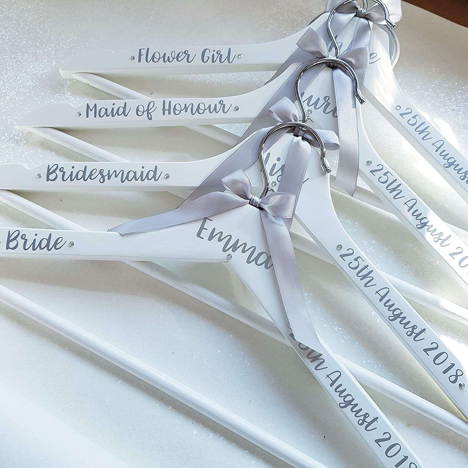 LUXURY personalised bride coat hanger/bridal coat hanger/wedding ...