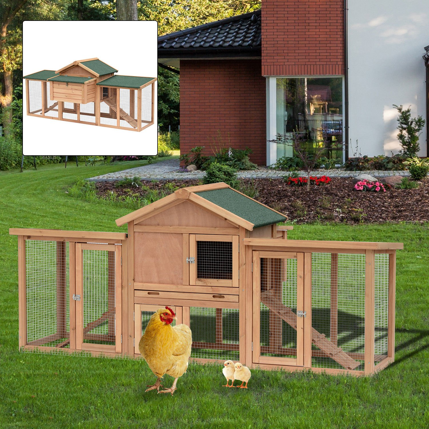 amazon com generic y nesting cage house try nesting b backyard