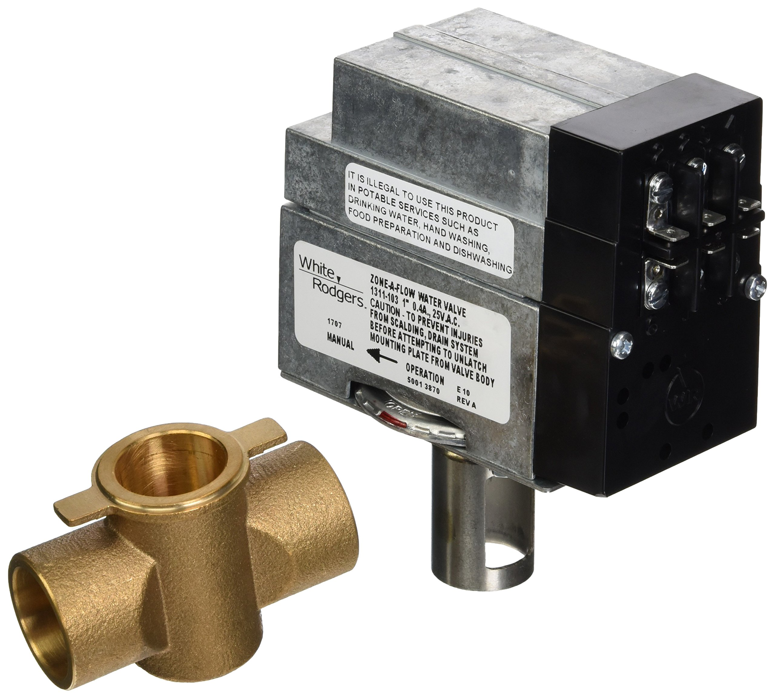 Emerson 1311-103 3-Wire Hydronic Zone Valve by Emerson Thermostats (Image #1)