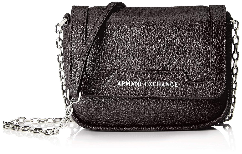 2fe2fa19 Amazon.com: A X Armani Exchange Chain Strap Small Crossbody Bag ...