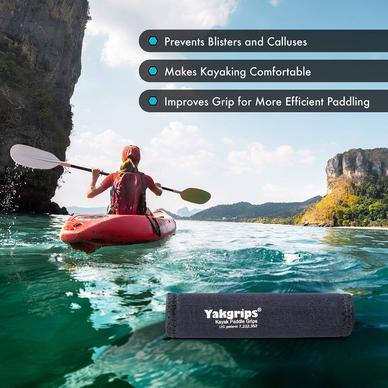 2pcs Kayak Canoe Boat Colorful Paddle Grips Prevent Blisters Calluses Fra  Uk