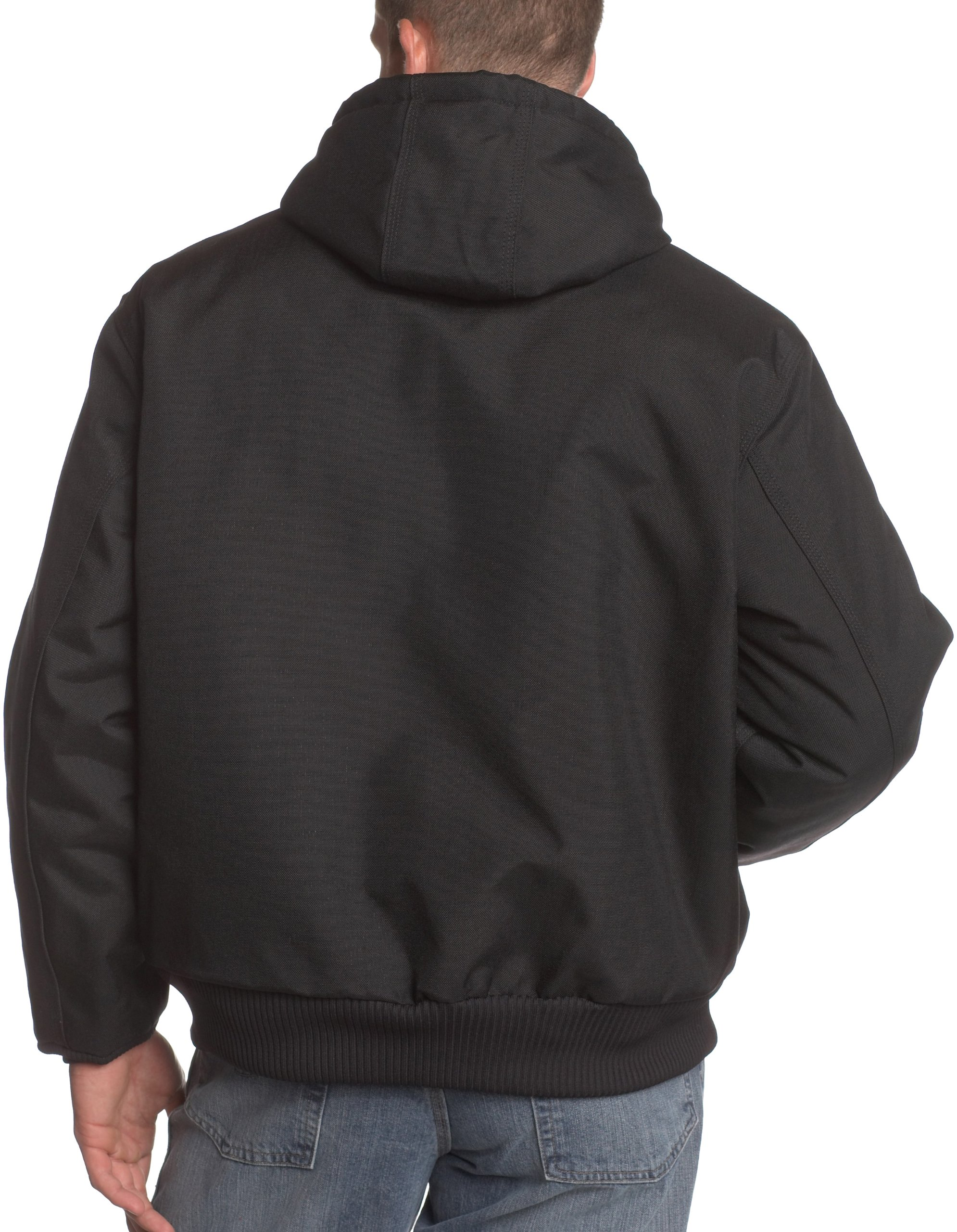 Carhartt Men's Arctic Quilt Lined Yukon Active Jacket,Black,X-Large by Carhartt (Image #2)