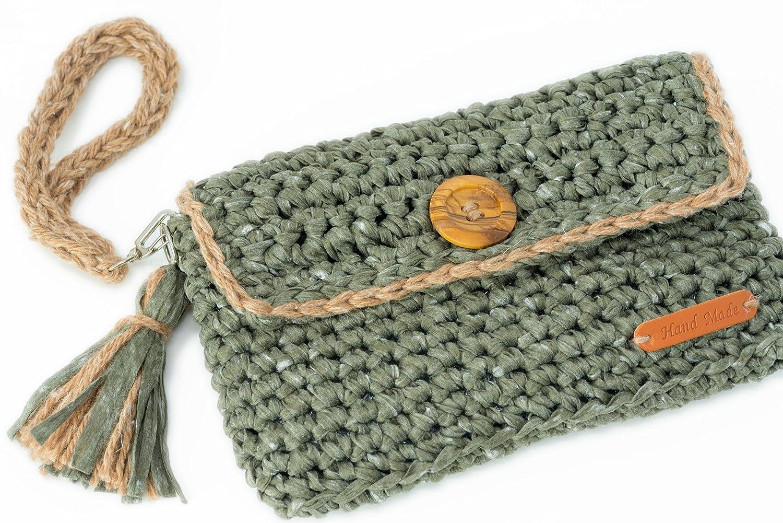 Gallecia Studio Casual clutch bolso de mano para mujer: Amazon.es: Handmade