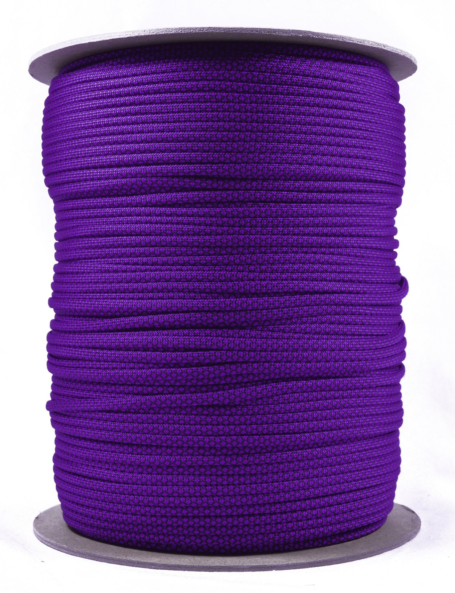 BoredParacord Brand Paracord (1000 ft. Spool) - Acid Purple Diamonds by BoredParacord (Image #1)