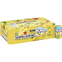 Sanpellegrino 24-Pack of 11.15 Fl. Oz Lemon Sparkling Fruit Beverage Cans (Limonata/Lemon)