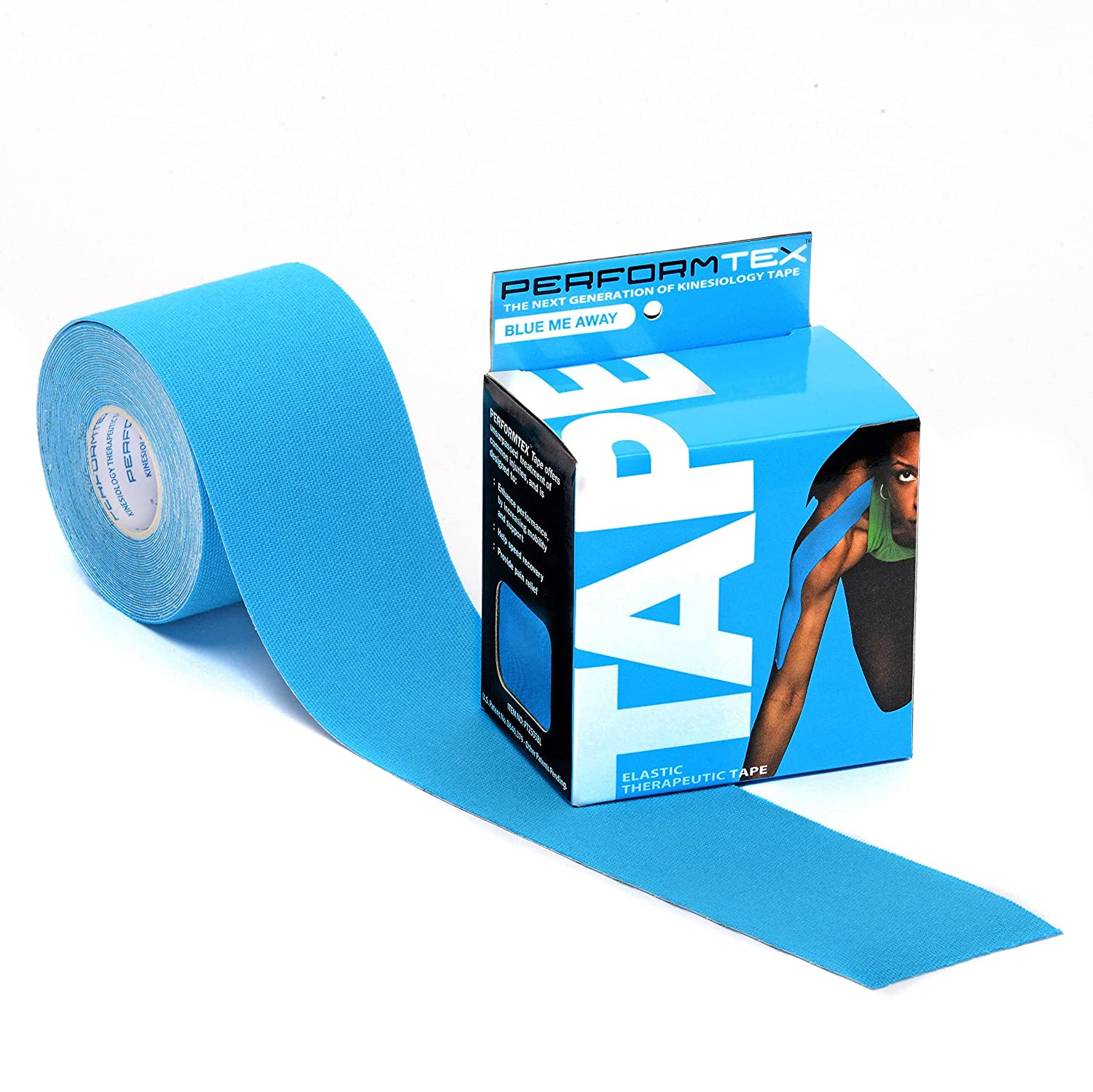 PerformTex Kinesiology Therapeutic Tape: Single Rolls - Blue Me Away by PerformTex B01AYCSX8E