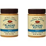 Barney Butter Bare Almond Butter, Smooth, 16 Ounce (Bare, Smooth, 2-Pack)