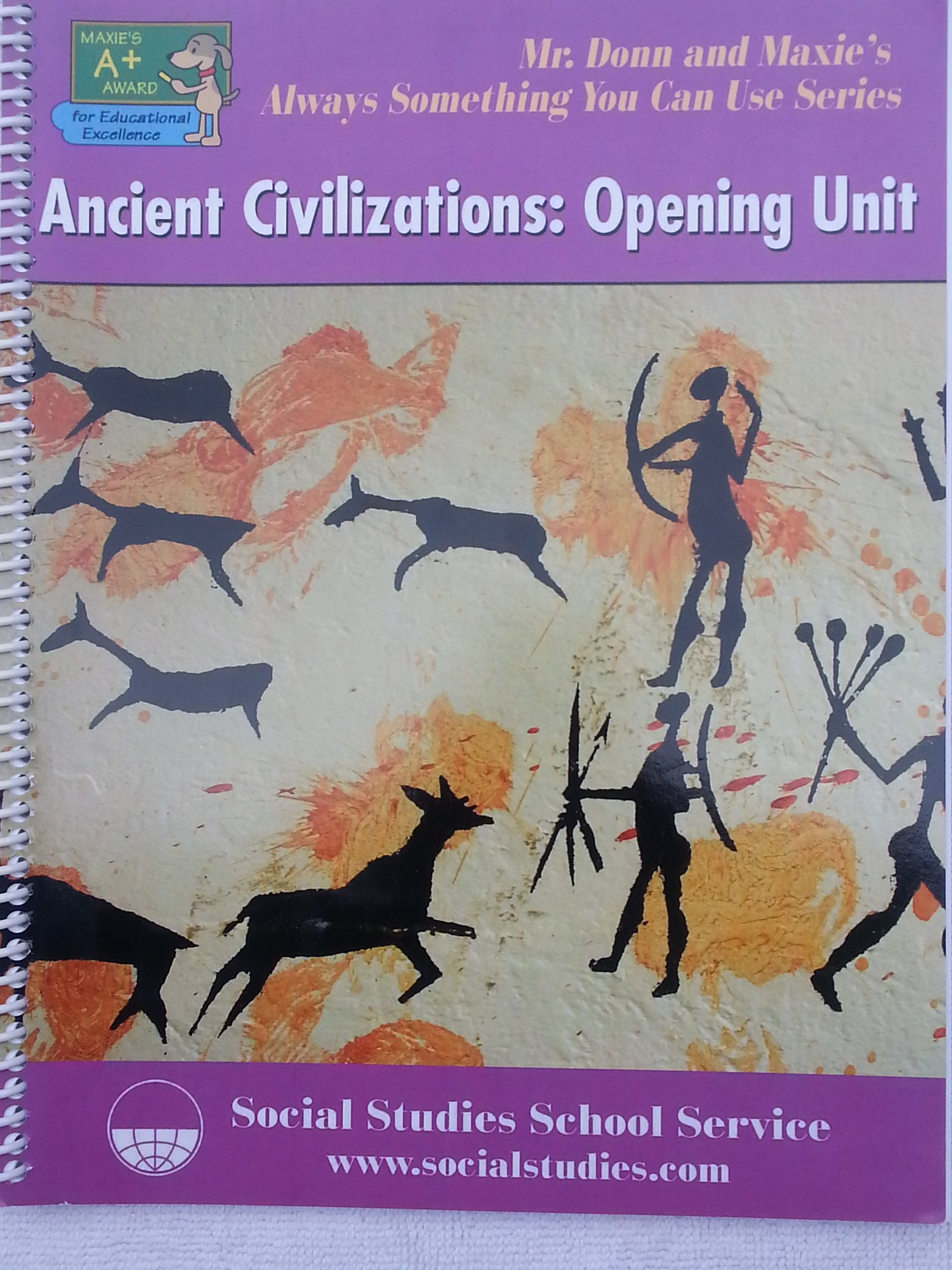 Ancient Civilizations: Opening Unit Mr  Donn and Maxie's