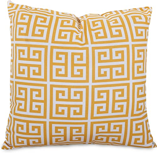 Majestic Home Goods Citrus Towers Indoor Outdoor Large Pillow 20 L x 8 W x 20 H