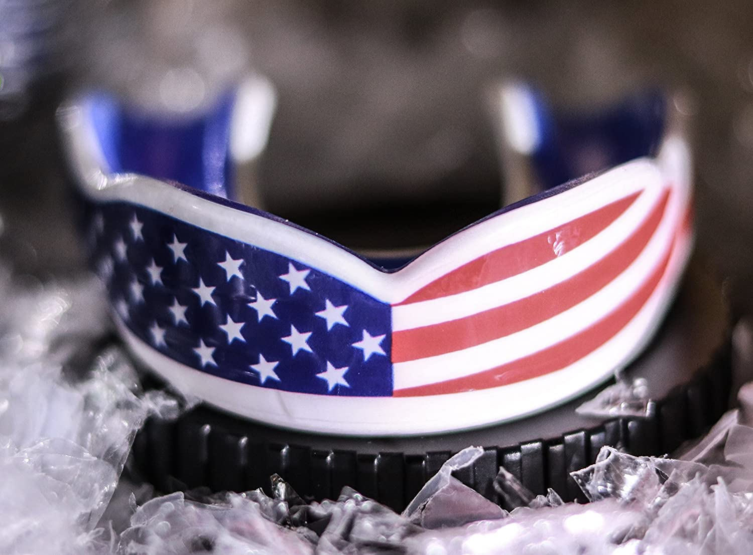 American Flag Mouth Guard Oral Mart Usa Flag Mouth Guard