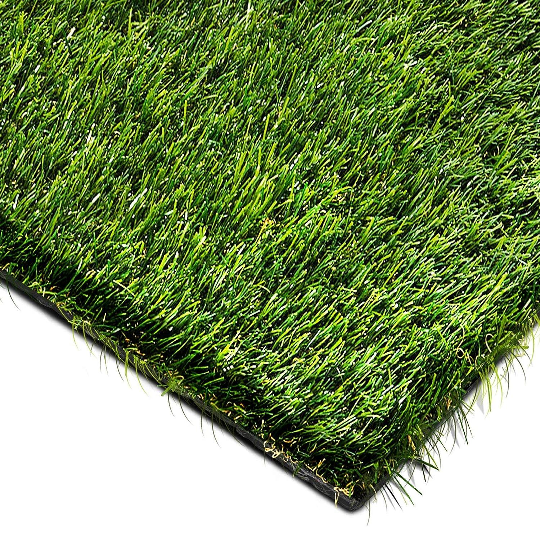 Gazon artificiel casa pura de luxe | herbe synthétique au mètre | pelouse, balcon, jardin, terrasse etc. | ultra résistant aux intempéries - 100x133cm