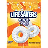 Life Savers Orange Mints Candy Bag, 6.25 ounce (12 Packs)