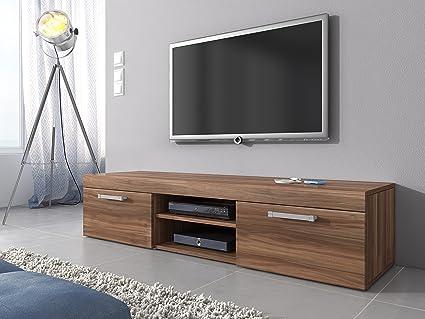 TV Mobile TV Porta Mobili Supporto, Mambo Noce Marrone Quercia , 160 ...