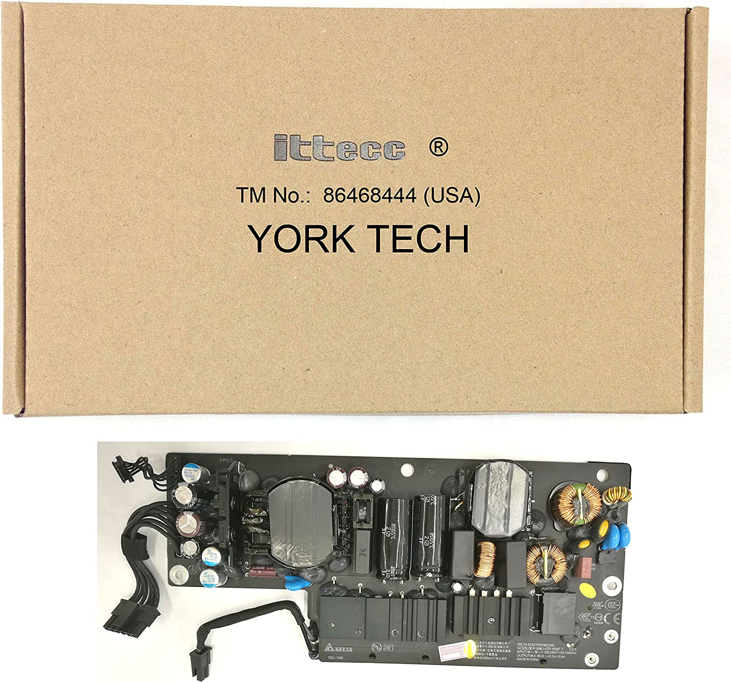 Ittecc Replacement 661-7111 Power Supply Fit for Apple 185W,614-0499 ADP-185BF A1418 2012 Year