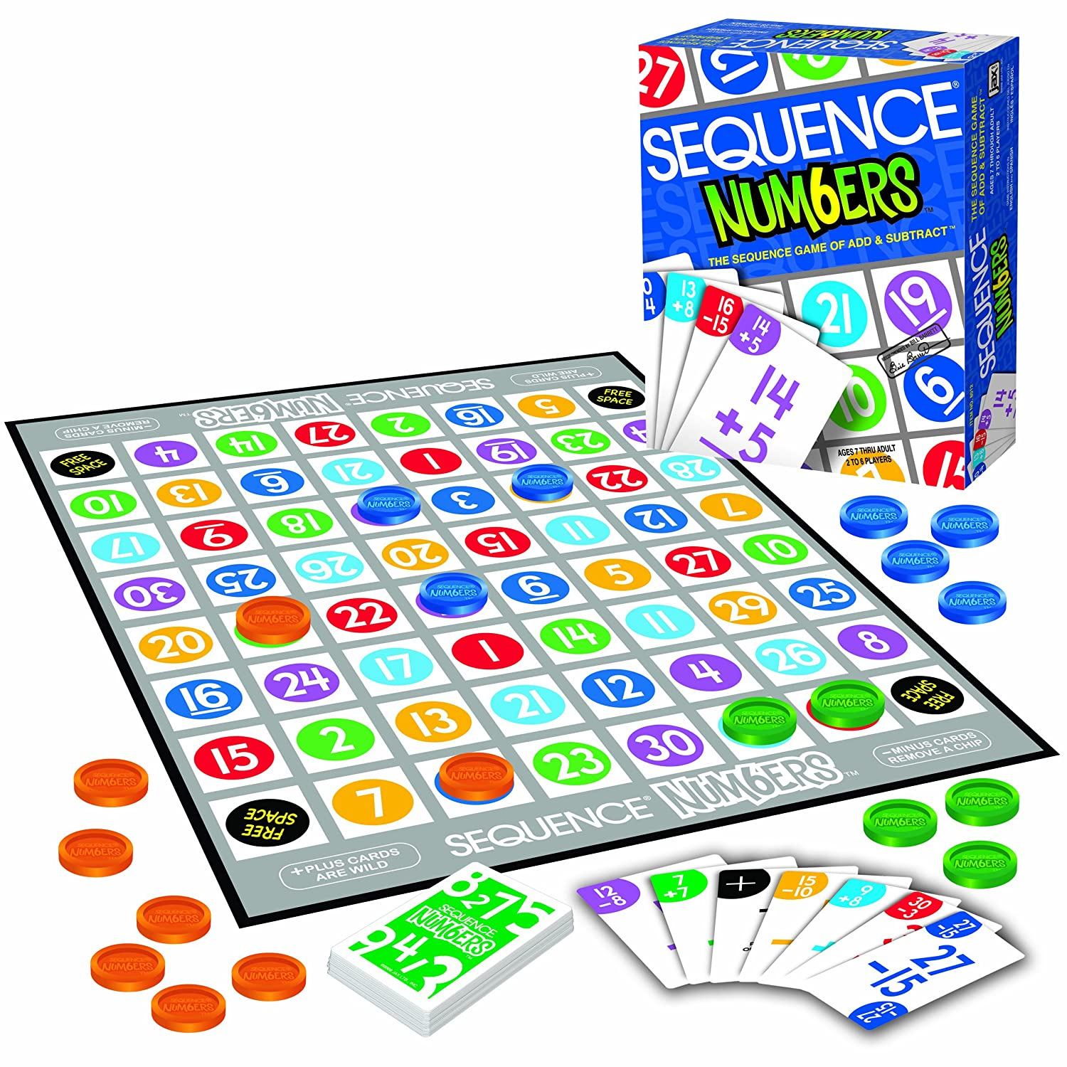 amazon com sequence numbers toys games