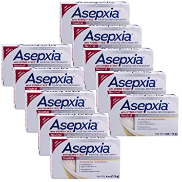 Bath & Body Asepxia Neutral Cleansing Bar 4 Oz Health & Beauty