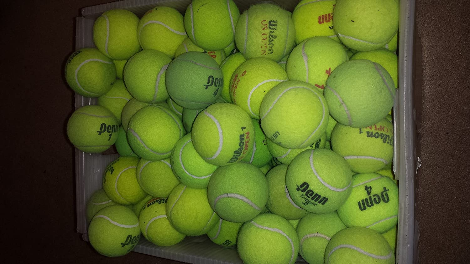 15 used tennis balls free and fast shipping