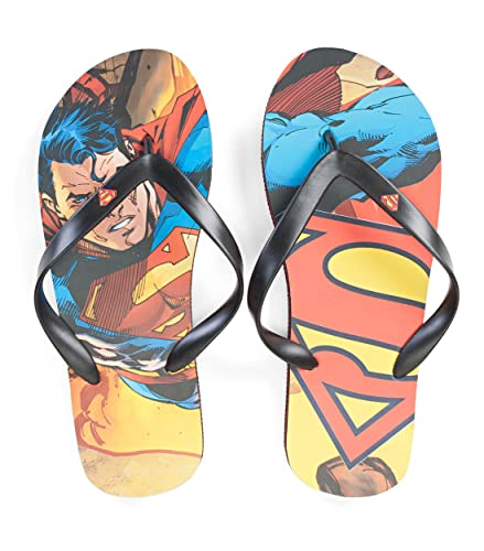 962f98204 Amazon.com  Concept One DC Comics Superman Sublimated Mens Flip Flop  Sandals  Shoes