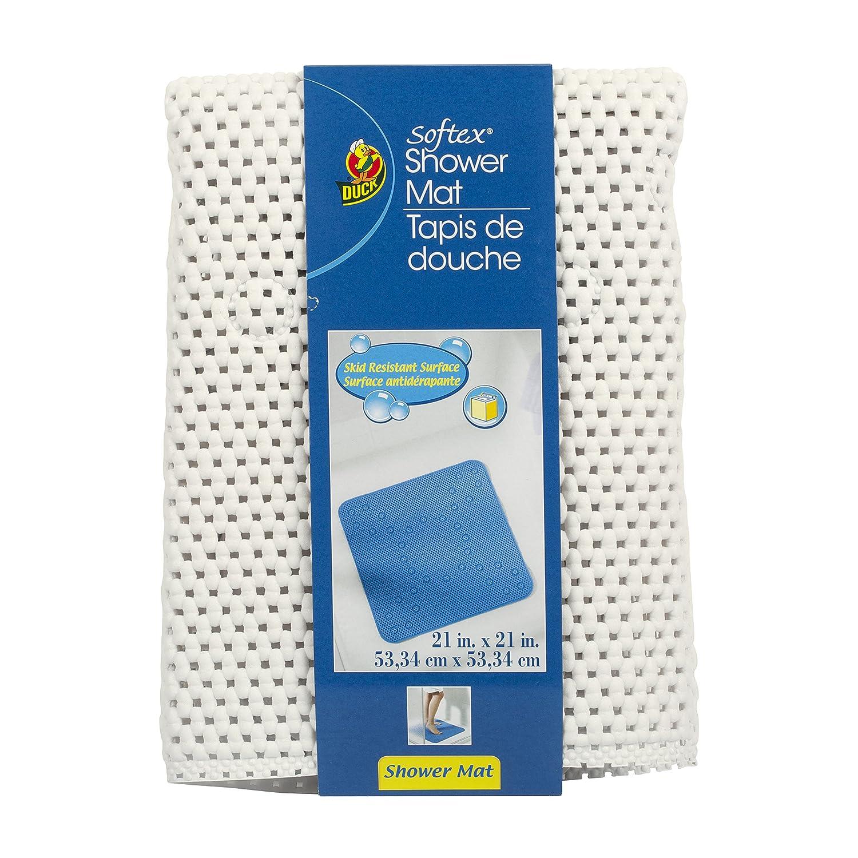 Amazon Duck Brand Softex Shower Mat 21 x 21 Inch