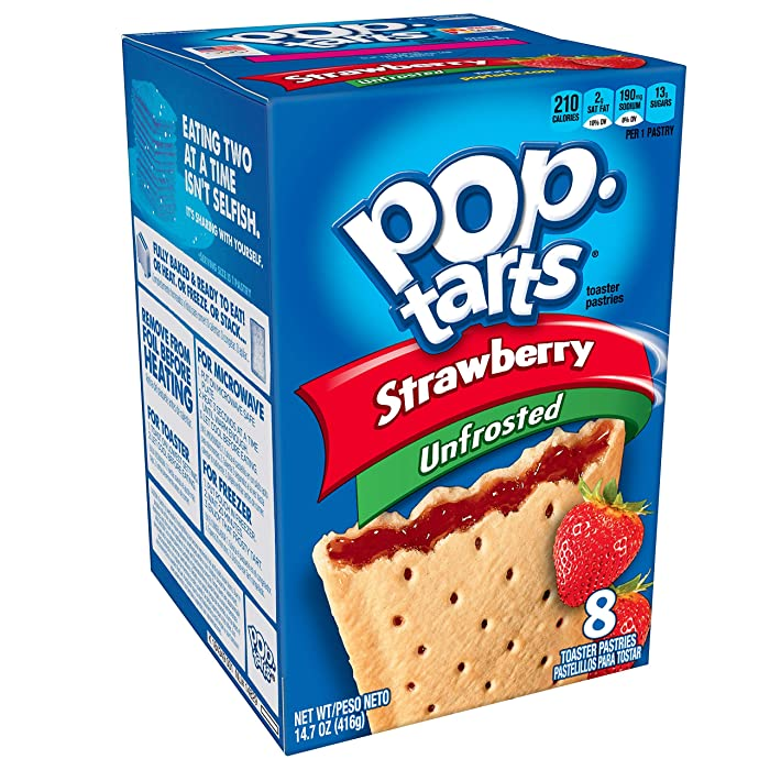 The Best Poptarts Strawberry Unfrosted Toaster Pastries