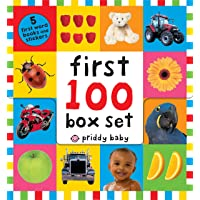 First 100 PB Box Set (5 Books): First 100 Words; First 100 Animals; First 100 Trucks and Things That Go; First 100…