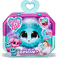 Scruff A Luvs Rescue Pet Soft Toy - Rabbit, Cat or Dog, Aqua