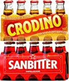 Crodino Aperitivo 10x100ml and SanPellegrino SanBitter Red 10x100ml (Total 20 Glass Bottles)