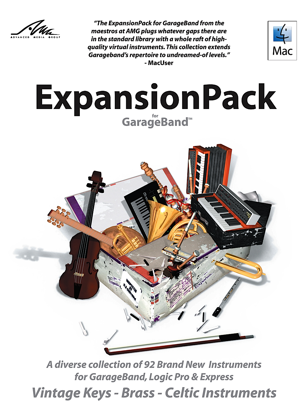 ExpansionPack for GarageBand - the essential upgrade [Download]
