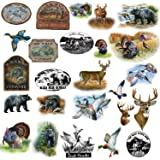RoomMates RMK1071SCS Wildlife Medley Peel and Stick Wall Decals