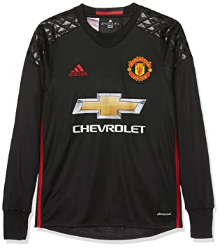 5a246e633 adidas MUFC H GK JSY Y - Goalkeeper - T-Shirt for 1st Football kit T ...