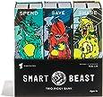 Smart Beast Trio Piggy Bank: 3-in-1 Money-wise Educational Piggy Bank …