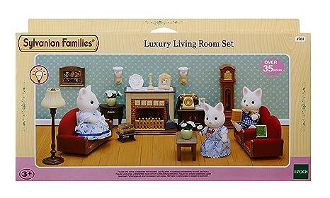 sylvanian families luxury living room set amazoncouk toys games. beautiful ideas. Home Design Ideas