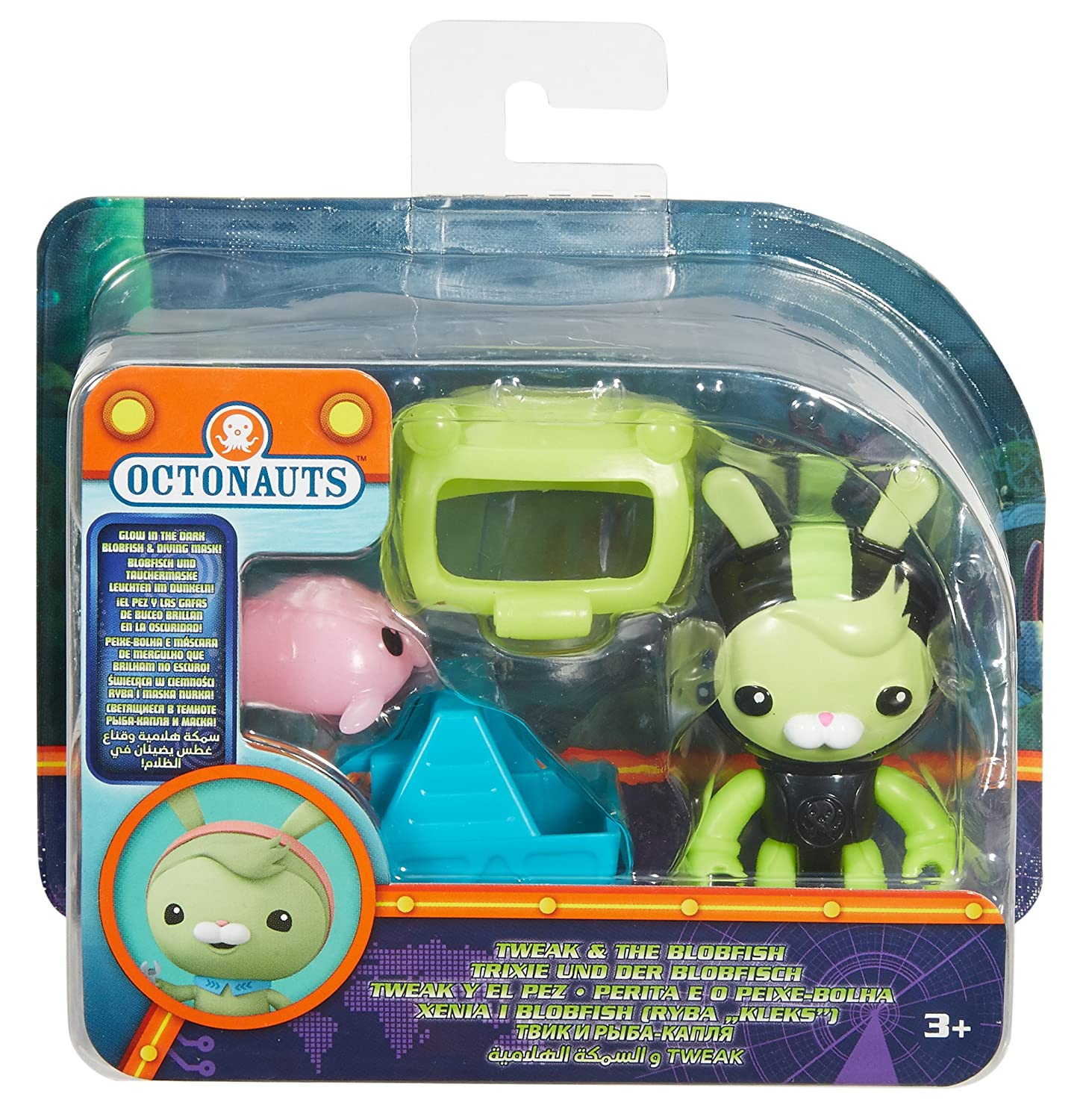 Amazon.com: Fisher-Price Octonauts Tweak & the Blobfish Toy Playset: Toys & Games