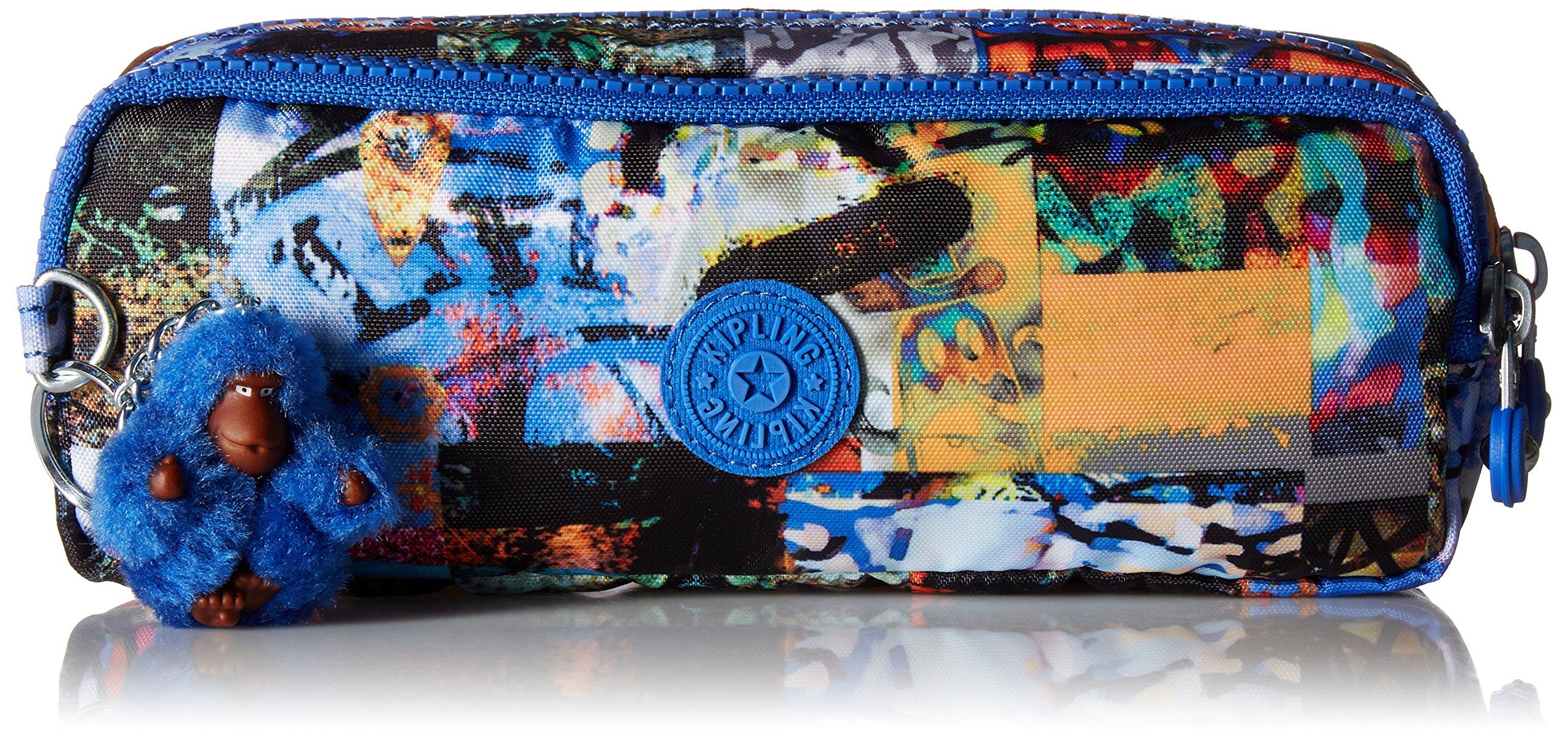 Kipling Gustavo Printed Pouch, Extraordinary Block