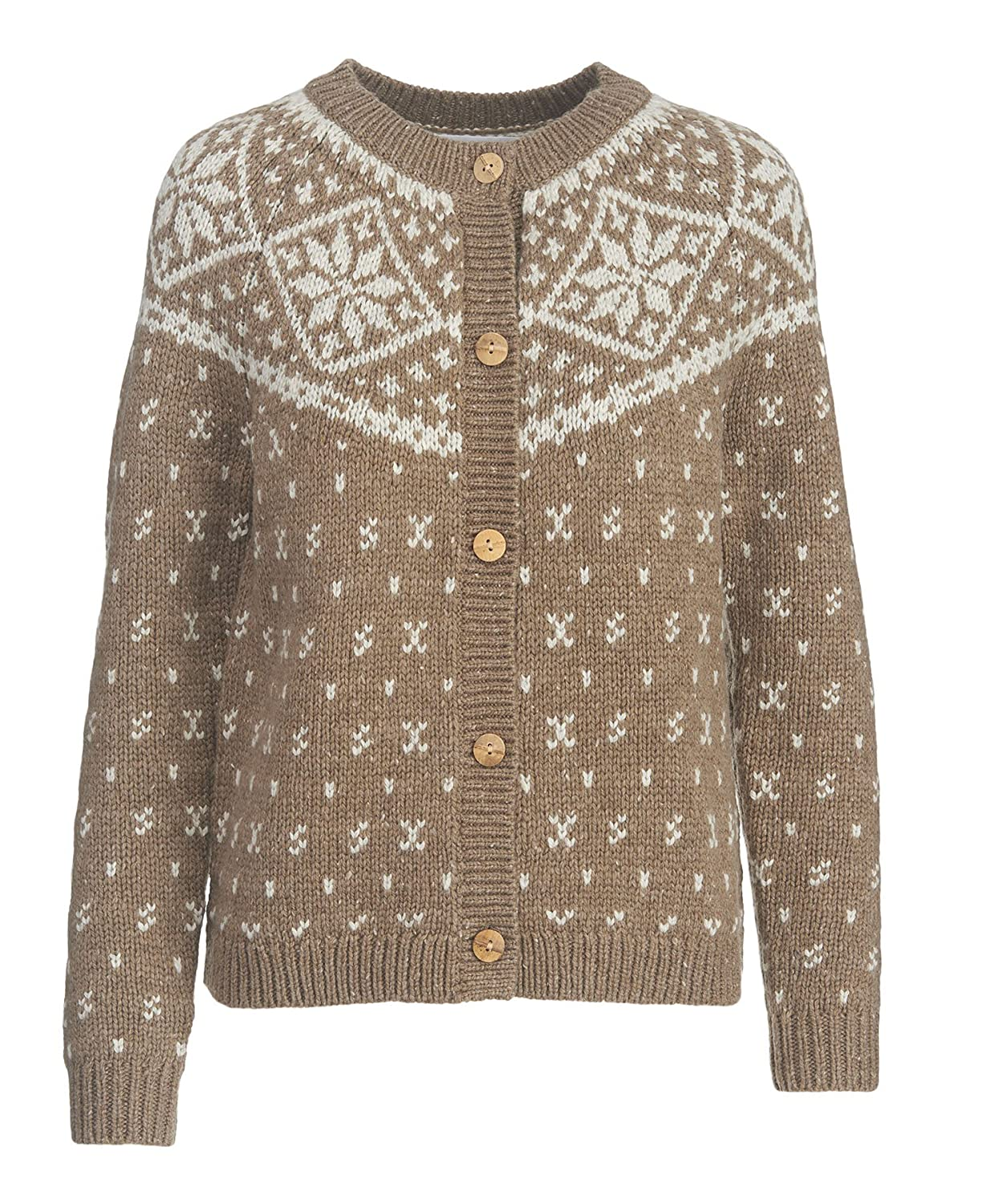 Woolrich Women's Snowfall Valley Snowflake Cardigan Sweater at ...
