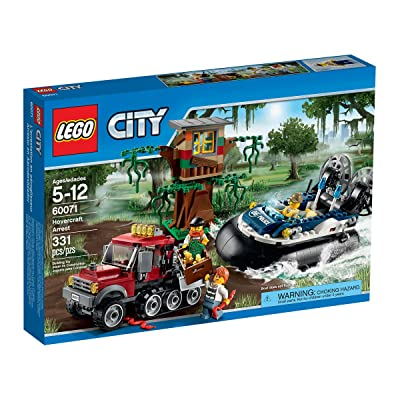 LEGO City Hovercraft Arrest 60071: Toys & Games