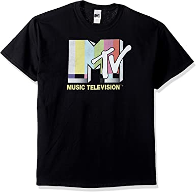 MTV Mens Retro Logo T-Shirt