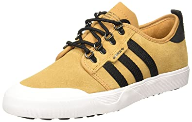 Adidas Men's Seeley Outdoor MesaCblackFtwwht Leather