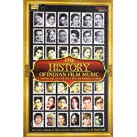A History of Indian Film Music: A Showcase of the Very Best in Hindi Cinema (10 CD Pack + A Book on Indian Cinema)