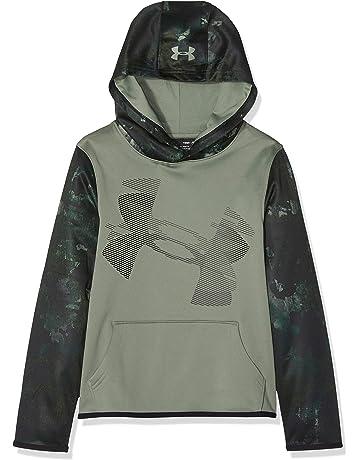158271dabc9a Under Armour Boys  Armour Fleece Sleeve Hoodie
