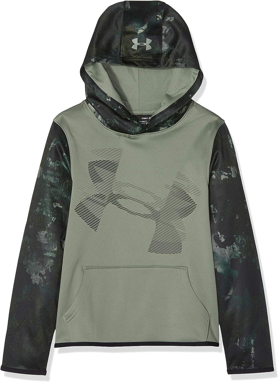 Under Armour Boys Armour Fleece Sleeve Hoodie