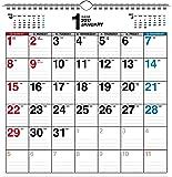 2017年 書き込み式シンプルカレンダー A3変型 ([カレンダー])