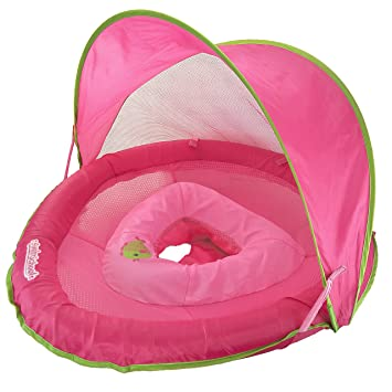 Image result for Swim School Sunshade Fabric BabyBoat in Pink by Aqua Leisure