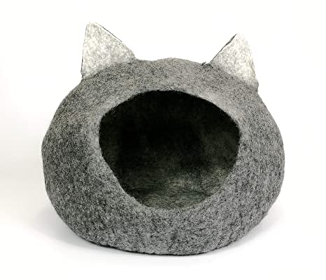 Tinie Fwends Igloo Cave - Cama para Gatos (tamaño Mediano a Grande), Color