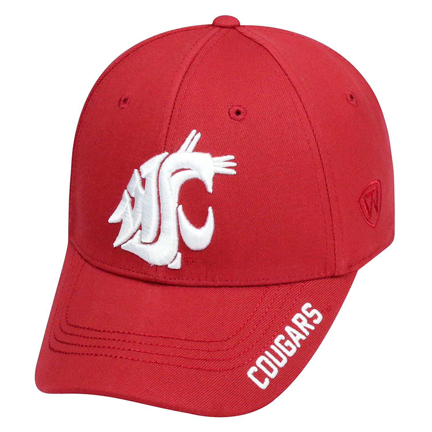 63c905b7be0ce Amazon.com   Top of the World NCAA-Premium Collection-One-Fit-Memory Fit-Hat  Cap-Alabama Crimson Tide   Sports   Outdoors